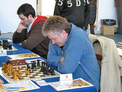 GM Viktor Moskalenko winning the strong Benidorm  Chess Festival in 2009.